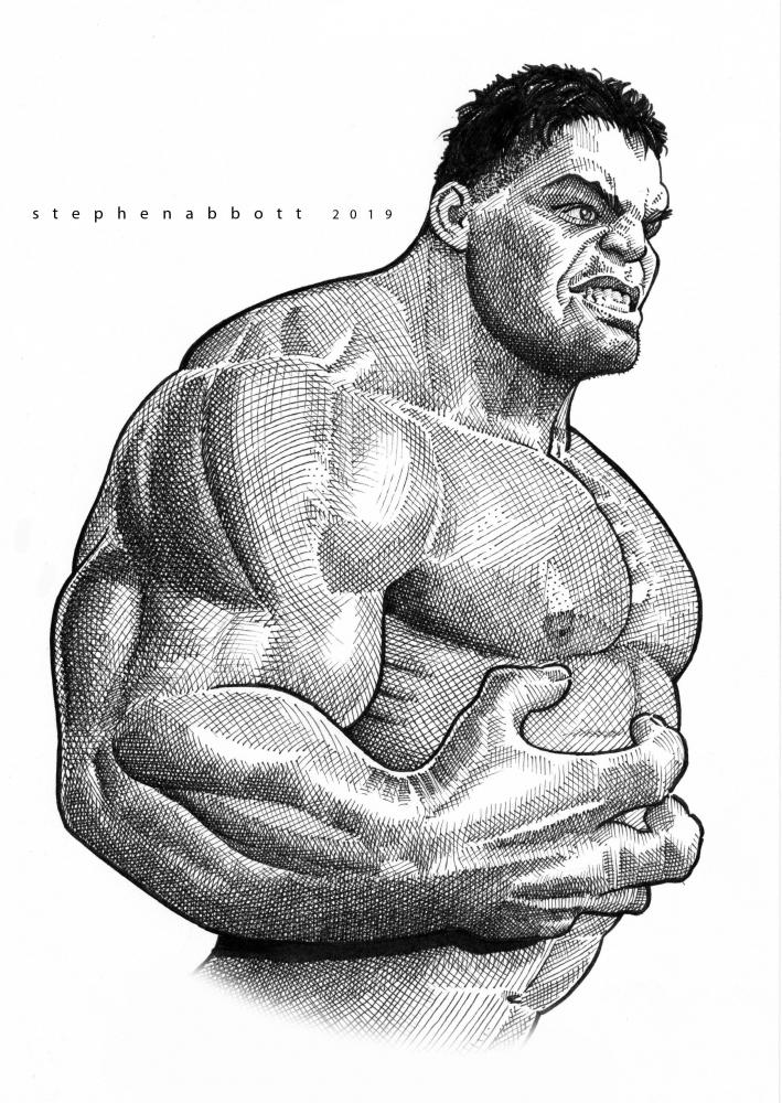 Hulk by Stefanosart